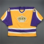 Robitaille, Luc *<br>Gold <br>Los Angeles Kings 1987-88<br>#20 Size: NA