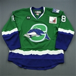 Haley, Micheal *<br>Green<br>Connecticut Whale 2012-13<br>#18 Size: 56