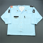 David, Jean-Francois *<br>Light Blue - NYS Correctional Officers (Game-Issued) - CLEARANCE<br>Elmira Jackals 2009-10<br>#20 Size: 56