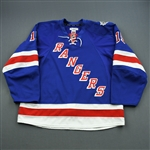 Dorsett, Derek *<br>Blue Stanley Cup Final<br>New York Rangers 2013-14<br>#15 Size: 56