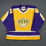Dionne, Marcel *<br>Gold - Autographed<br>Los Angeles Kings 1980-82<br>#16 Size: M
