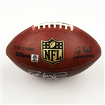 Favre, Brett *<br>Game-Used Football from 11/2/08 vs. Buffalo Bills - Autographed and Inscribed<br>New York Jets 2008<br>