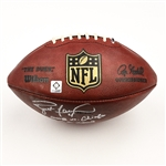 Favre, Brett *<br>Game-Used Football from 10/26/08 vs. Kansas City Chiefs - Autographed and Inscribed<br>New York Jets 2008<br>