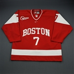 Sheen, Colin *<br>Red<br>Boston University Terriers 2000-01<br>#7 Size: 56