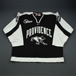 Zingoni, Peter *<br>Black<br>Providence College Friars 2000-01<br>#7 Size: 56
