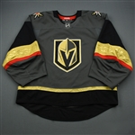 Blank - No Name or Number<br>Gray - (Adidas adizero) - CLEARANCE<br>Vegas Golden Knights <br> Size: 58G