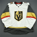 Blank - No Name or Number<br>White - (Adidas adizero) - CLEARANCE<br>Vegas Golden Knights <br> Size: 54