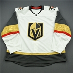 Blank - No Name or Number<br>White - (Adidas adizero) - CLEARANCE<br>Vegas Golden Knights <br> Size: 58+