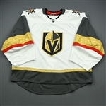 Blank - No Name or Number<br>White - (Adidas adizero) - CLEARANCE<br>Vegas Golden Knights <br> Size: 58G