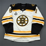 Blidh, Anton *<br>White Stanley Cup Final Set 2 - Game-Issued (GI)<br>Boston Bruins 2018-19<br>#81 Size: 56