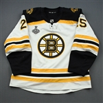 Carlo, Brandon *<br>White Stanley Cup Final Set 2<br>Boston Bruins 2018-19<br>#25 Size: 56