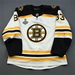 Kuhlman, Karson *<br>White Stanley Cup Final Set 2 - First Career Playoff Goal<br>Boston Bruins 2018-19<br>#83 Size: 56