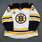 Kuraly, Sean *<br>White Stanley Cup Final Set 2<br>Boston Bruins 2018-19<br>#52 Size: 56