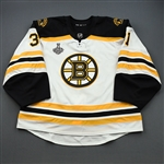 McIntyre, Zane *<br>White Stanley Cup Final Set 2 - Game-Issued (GI)<br>Boston Bruins 2018-19<br>#31 Size: 60G