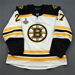 Moore, John *<br>White Stanley Cup Final Set 2<br>Boston Bruins 2018-19<br>#27 Size: 56