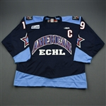 Bertoli, Scott *<br>Navy w/C - Period 1 - Autographed<br>ECHL All Star 2005-06<br>#19