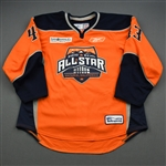Prough, Jeff *<br>Orange Period 2<br>ECHL All Star 2009-10<br>#43 Size: 54
