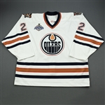 Murray, Rem *<br>White - Stanley Cup Final Games 1 and 2<br>Edmonton Oilers 2005-06<br>#22 Size: 58