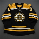 Bjork, Anders<br>Black Set 1 (A removed)<br>Boston Bruins 2019-20<br>#10 Size: 56