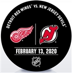 New Jersey Devils Warmup Puck<br>February 13, 2020 vs. Detroit Red Wings<br>New Jersey Devils 2019-20<br>