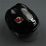 Carrick, Connor<br>Black, Warrior Helmet w/ Bauer Shield<br>New Jersey Devils 2019-20<br>#5 Size: Small