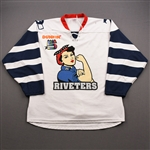 Baker, Brooke<br>White Set 1<br>Metropolitan Riveters 2019-20<br>#7 Size: LG
