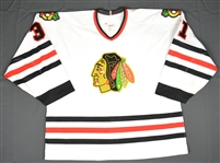 Hackett, Jeff *<br>White Set 2<br>Chicago Blackhawks 1993-94<br>#31 Size: