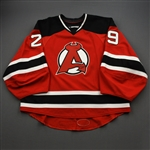 Blackwood, Mackenzie *<br>Red<br>Albany Devils 2016-17<br>#29 Size: 58G