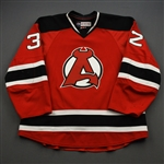 Gormley, Brandon *<br>Red<br>Albany Devils 2016-17<br>#32 Size: 56