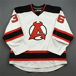NOBR (Name on Back Removed) *<br>White<br>Albany Devils 2016-17<br>#36 Size: 56
