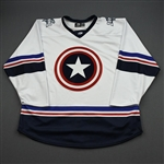 BLANK (No Name Or Number)<br>MARVEL Captain America (Game-Issued) - January 20, 2020 @ Utah Grizzlies<br>Idaho Steelheads 2019-20<br> Size: 56