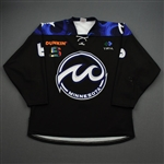 Baldwin, Sydney<br>Black Set 1A <br>Minnesota Whitecaps 2019-20<br>#6 Size: LG