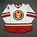 Ottenbreit, Turner<br>MARVEL Iron Man (Game-Issued) - February 12, 2020 @ Rapid City Rush<br>Allen Americans 2019-20<br>#4 Size: 56