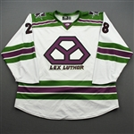 Nagy, Regan<br>DC Lex Luthor (Game-Issued) - December 1, 2019 @ Tulsa Oilers (Autographed)<br>Allen Americans 2019-20<br>#28 Size: 54