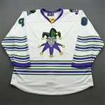 Benson, Jacob<br>DC Joker (Game-Issued) - February 29, 2020 @ Rapid City Rush<br>Tulsa Oilers 2019-20<br>#90 Size: 54