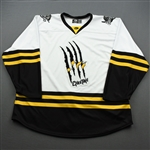 No Name or Number, Blank - <br>DC Cheetah (Game-Issued) - November 16, 2019 @ Kalamazoo Wings<br>Utah Grizzlies 2019-20<br> Size: 56
