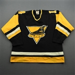 Redmond, Dick *<br>Black<br>Erie Blades 1981-82<br>#14 Size: NA