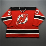 Andreychuk, Dave *<br>Set 1 Red <br>New Jersey Devils 1997-98<br>#23 Size: 58