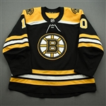 Bjork, Anders<br>Black Set 2<br>Boston Bruins 2019-20<br>#10 Size: 56