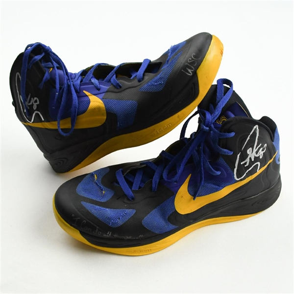 Curry, Stephen *<br>Nike Hyperfuse QAM - November 3, 2012 @ Los Angeles Clippers (Autographed)<br>Golden State Warriors 2012-13<br>#30