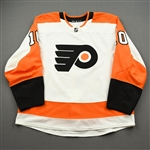Andreoff, Andy<br>White Set 1<br>Philadelphia Flyers 2019-20<br>#10 Size: 56