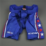 Eller, Lars<br>Blue Third, CCM Pants Shell<br>Washington Capitals 2018-20<br>#20 Size: XL