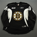 Bjork, Anders<br>Black Practice Jersey w/ ORG Packaging Patch - CLEARANCE<br>Boston Bruins 2017-18<br>#51 Size: 56