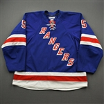 Girardi, Daniel *<br>Blue - Eastern Conference Semifinals<br>New York Rangers 2011-12<br>#5 Size: 58