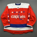 Blank - No Name or Number<br>Third - (Adidas adizero) - CLEARANCE<br>Washington Capitals <br> Size: 58