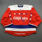 Blank - No Name or Number<br>Third - (Adidas adizero) - CLEARANCE<br>Washington Capitals <br> Size: 58G