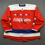 Blank - No Name or Number<br>Third - (Adidas adizero) - CLEARANCE<br>Washington Capitals <br> Size: 60