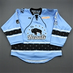 Curmova, Lenka<br>Blue Lake Placid Set w/ Isobel Cup & End Racism Patch<br>Buffalo Beauts 2020-21<br>#5 Size:  LG