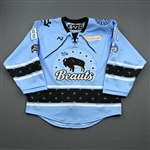 Gehen, Erin<br>Blue Lake Placid Set w/ Isobel Cup & End Racism Patch<br>Buffalo Beauts 2020-21<br>#81 Size:  MD