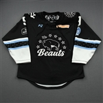 MacDougall, Autumn<br>Black Lake Placid Set w/ Isobel Cup & End Racism Patch<br>Buffalo Beauts 2020-21<br>#9 Size:  SM